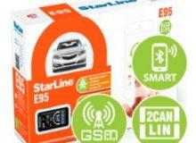 Обзор сигнализации StarLine E95 ВТ 2CAN+LIN