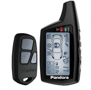 Pandora DX 70 Брелок и его функции