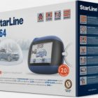 Обзор сигнализации Starline B64