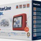 Обзор сигнализации Starline D64