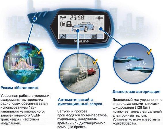 Автосигнализация starline a91 dialog цена в кемерово, инструкция.
