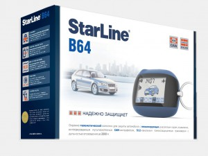 Сигнализация Starline B64 Dialog CAN