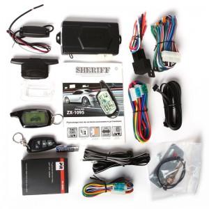 комплектация сигнализации Sheriff ZX-1090