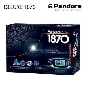 Сигнализация pandora deluxe 1870