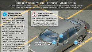 защита машину от угона