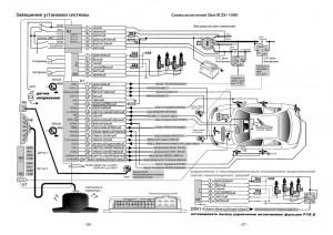 установка сигнализации Sheriff ZX-1090